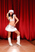 Christmas dancer — Stock Photo