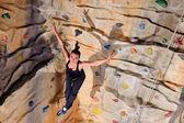 активная женщина в спортивный центр — Стоковое фото