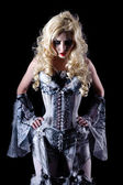 Vampire woman — Stock Photo