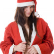 Beauty Santa — Stock Photo #3963205