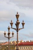 Roofs and lanterns of Saint-Petersburg — Stock Photo