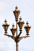 The Petersburg's streetlamp — Stock Photo