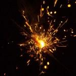 Celebratory fireworks — Stock Photo