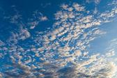 Il cielo prima del tramonto — Foto Stock