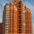 Stock Photo: Modern residential brick building