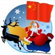 Merry Christmas, China! — Stock Vector #4170408