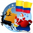 Merry Christmas, Colombia! — Stock Vector #4170409