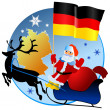 Merry Christmas, Germany! - Imagen vectorial