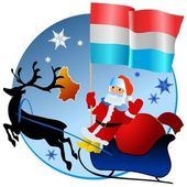 Merry Christmas, Luxembourg! — Stock Vector