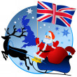 Merry Christmas, United Kingdom! — Stock Vector