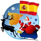 Merry Christmas, Spain! — Stock Vector