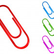 Paper clip — Stock Vector