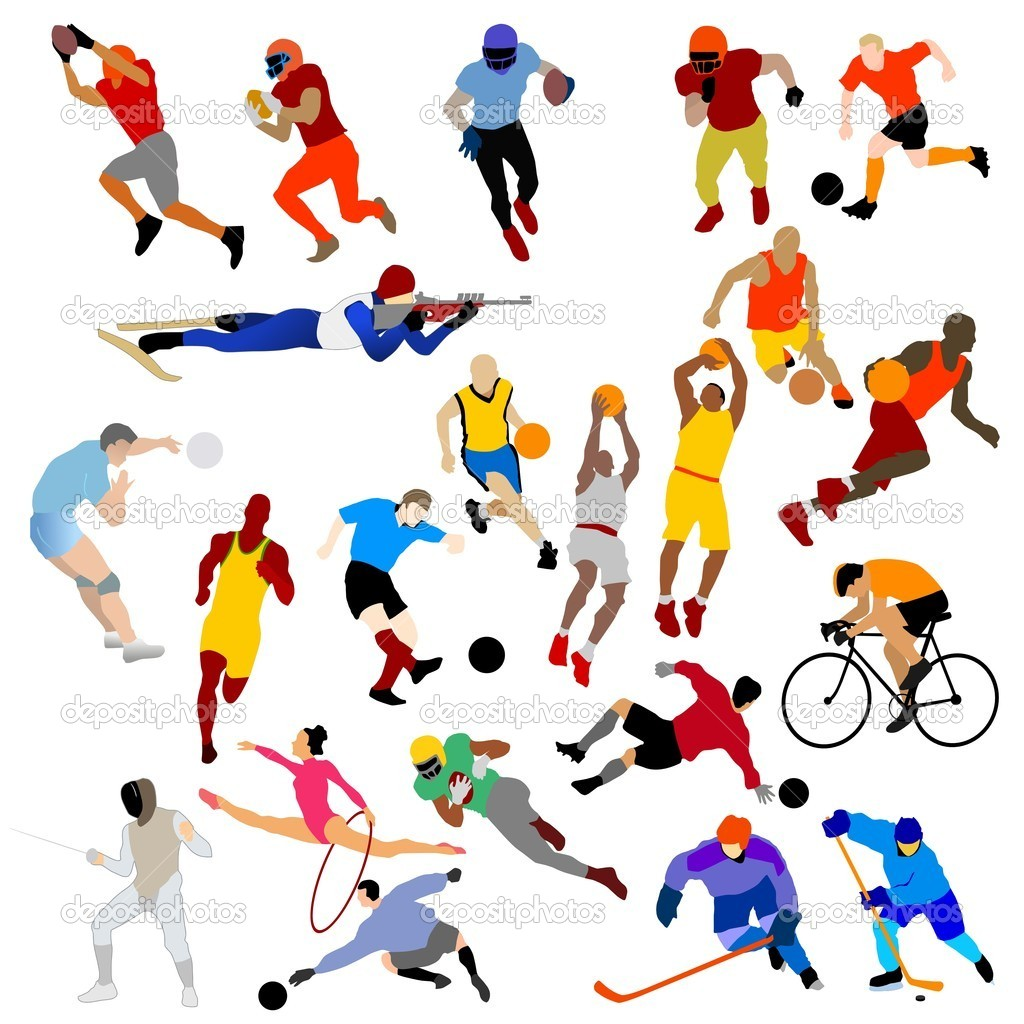 Herunterladen - Sport-ClipArts — Stockillustration #4664544