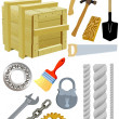 Royalty-Free Stock Vector Image: Different tools