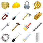 Set of tools — Stock Vector
