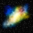 Stock Photo: Cosmic nebula
