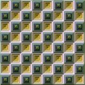 Seamless mosaic background — Stock Photo