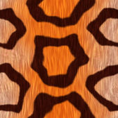 Abstract seamless leopard skin — Stock Photo