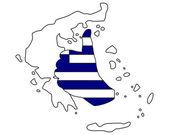 Greece hand signal — Stock Photo