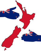 Welcome to New Zealand — Stock Photo