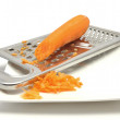 Carrot rasping — Stock Photo #4762509