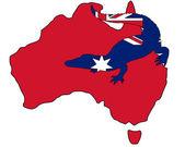 Krokodil-australien — Stockfoto