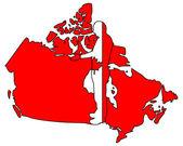 Canadian handshake — Stock Photo