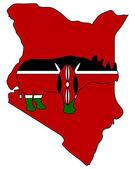 Kenya black rhino — Stock Photo