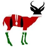 Kenya antelope — Stock Photo
