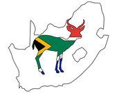 South Africa antilope — Stock Photo