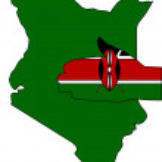 Welcome to Kenya — Stock Photo