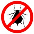 Royalty-Free Stock Photo: Aphid prohibition sign
