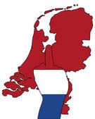 Dutch finger signal — Stock Photo
