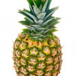 Ripe pineapple isolated on white — Stock Photo