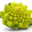 Romanesco broccoli cabbage isolated — Stock Photo