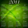 Calendar 2011 - Stock Vector