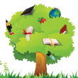 Stock Photo: Education tree