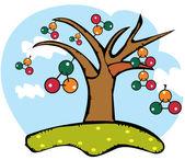Dna tree — Stock Photo