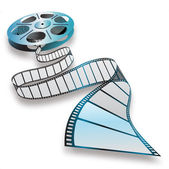 Movie reel — Stock Photo