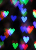 Blurred valentine background — Stock Photo