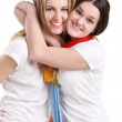 Happy smiling friends — Stock Photo