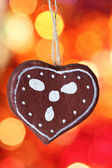Gingerbread cookies decoration — Stock Photo
