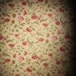Stock Photo: Vintage floral background
