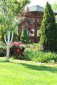 Ogród letni — Zdjęcie stockowe