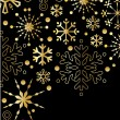 Background with New Year decoration. - Stock Vector