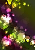 Bright sparkling festive background — Stock Vector