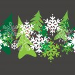 Seamless christmas pattern — Stock Vector #4506362