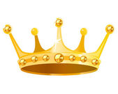 Gold crown — Stock Vector