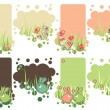 Set of easter tags — Stock Vector #5114657