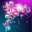 Royalty-Free Stock Vector Image: 3D colorful vector